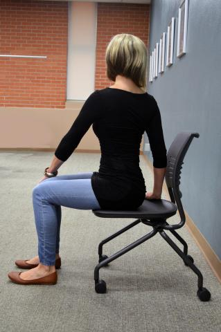 Seated twist