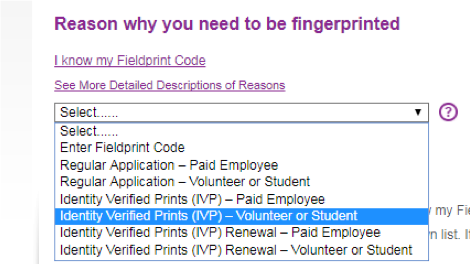 Reason why you need to be fingerprinted